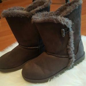 Airwalk womens brown winter boots size 7